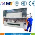 Wc67k-100t/3200 tubo hidráulico de la máquina de flexión con dos ejes