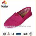 señoras yl7579 baratos de china zapatos de lona