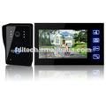 Pulgadas 7 2.4 ghz color tft lcd de villa de vídeo inalámbrico teléfono de la puerta de intercomunicación inalámbrica