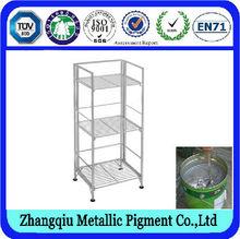 caliente la venta de pigmento de aluminio para la plata de pintura plástica