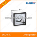 Scd48-a 48*48mm analógica metro del panel
