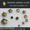 7mm pirámide dorada naihheads accesorios de prendas de vestir en china