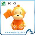 popular de dibujos animados unidad flash usb del pvc avec CE FCC ROHS