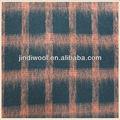 tejido plushed comprobar el patrón de tela de lana