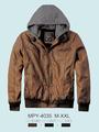 chaquetas de cuero para los hombres