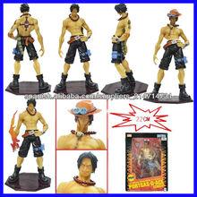 (ORIGINAL) 22cm Portgas D Ace una pieza japonesa de dibujos animados de anime figuras surtidor de los juguetes
