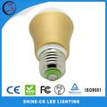 Alta brillante E27 3W LED SMD Alto Potencia marcas de bombillas