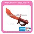 Artículo de la promoción de plástico + eva espada juguetes para los niños comprar a granel de china