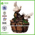 decoración de escritorio de resina jardín fuente china