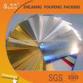 Competitivegold 225gsm / lámina de aluminio de cartón de papel de plata
