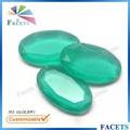 las facetas gemas personalizable al por mayor de vidrio decorativo gemas