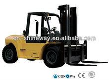 10 tonelada empilhadeira a diesel com motor importado cnfd100