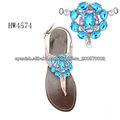 2014 zapatos hebillas de zapatos de flores adornos para calzado más populares