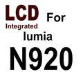 lcd integrado para o lumia novo modelo original n920