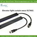 Cortina de luz elevador 917a weco, segurança cortina de luz