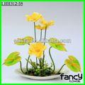 flor artificial decorativa anturio bonsai
