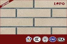 gris de ladrillo de arcilla al aire libre revestimiento de la pared del azulejo