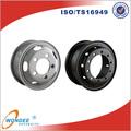 Bordes de la rueda de acero de 15 pulgadas