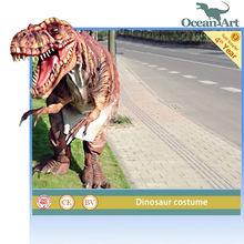 realista para adultos traje de dinosaurio dinosaurios de fábrica