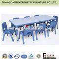 La guardería muebles, la guardería de mesa y una silla conjuntos, niños de mesa y sillas