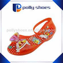 moda rojo baratos sexy sandalias de niña