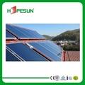 eficiente de la energía solar de panel plano colector