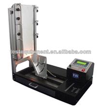 vertical inflamabilidad cámara de pruebas