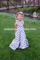 2014 nuevo diseño de la venta maxi vestido para las niñas