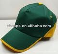 En blanco 5 paneles gorra de béisbol, dos de color personalizado hecho 5 panel de la tapa