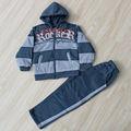 crianças roupas de inverno quente sal