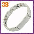 pulseira médica para os homens em jóias de prata amizade grife padrões artesanais pulseiras de arame