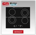 cocina de la inducción de china fabricante de quemadores de cerámica con 2 quemadores