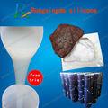 molde de goma para la piedra/moldes para la fabricación de molduras de yeso