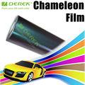 2013 New camaleónica piel de serpiente de color Diseño duradero película cambiante del coche del vinilo de Protecion de coches