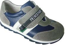 suave zapatillas de deporte de cuero
