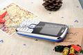 barato la venda del patio del teléfono móvil de doble sim de gama baja S5i