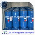 China mejor pg glicol de propileno mono en química 99.9%