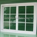 Aluminio de alta calidad de ventana deslizante con rejilla