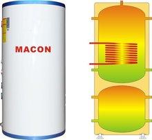 2014 macon nueva de agua caliente del tanque de almacenamiento y depósito de inercia