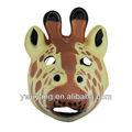 niños de dibujos animados jirafa máscara de la máscara de la cara para la venta