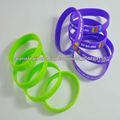 simple estilo de silicona bandas de mano para los regalos promocionales