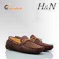 nuevos zapatos mocasín de cuero de moda para los hombres