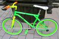 pulgadas 20 especializada venta caliente fija de aluminio del engranaje de la bicicleta al por mayor