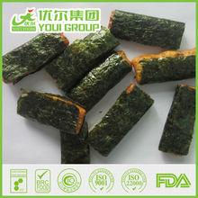 /crujiente y sabroso/sabroso/algas deliciosa galleta de arroz puff