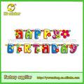 Feliz aniversário banner, artigos para festas de aniversário e banners, livro bandeira banners