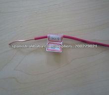 colorido con aislamiento de PVC de cobre / aluminio alambres sólidos