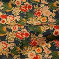 reativa impressa algodão fino tecido de sarja para o vestuário flor padrão impresso tecido percal de algodão para a camisa