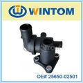 Reborde del agua de las piezas de repuesto de Hyundai con el termóstato 25611-02502/25650-02501