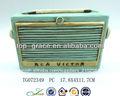 resina de radio antigua