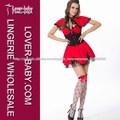 centro de atención rojo vestido de mujer de Trajes de moda de ropa interior